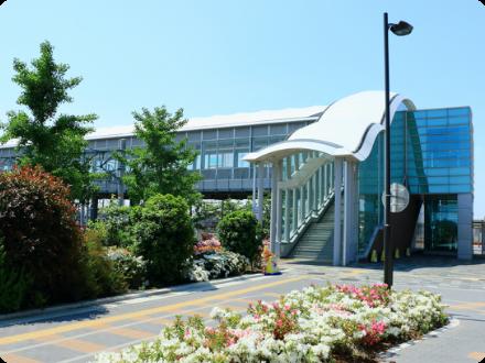 JR岸部駅前広場階段改修工事 写真